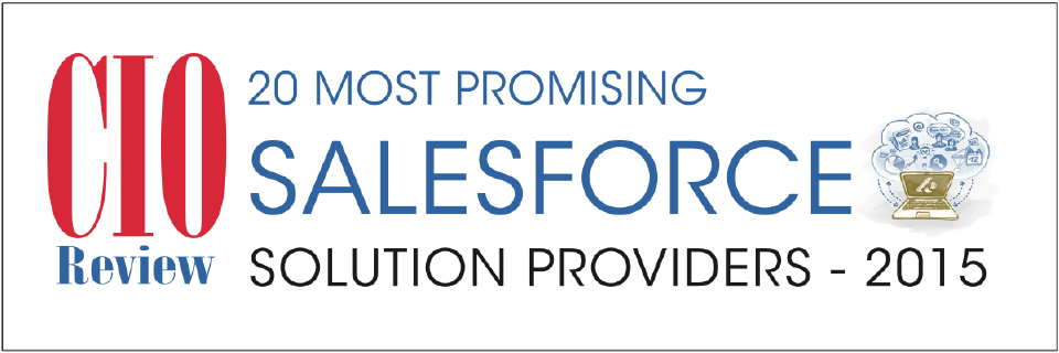 Adventace® Awarded Top 20 Most Promising Salesforce Solution Provider 2015