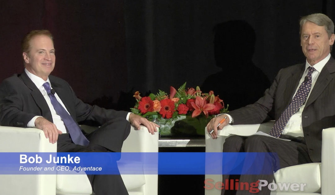 See Bob Junke's Interview with Selling Power's CEO