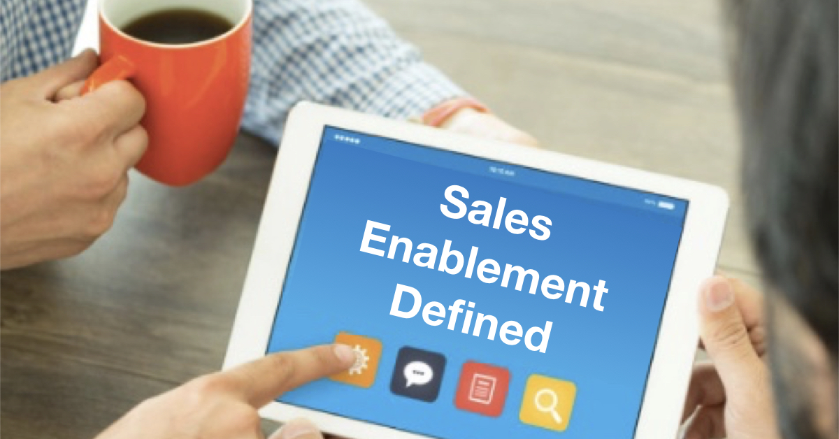 A working group within the Sales Enablement Society has come up with a draft definition of what Sales Enablement is.