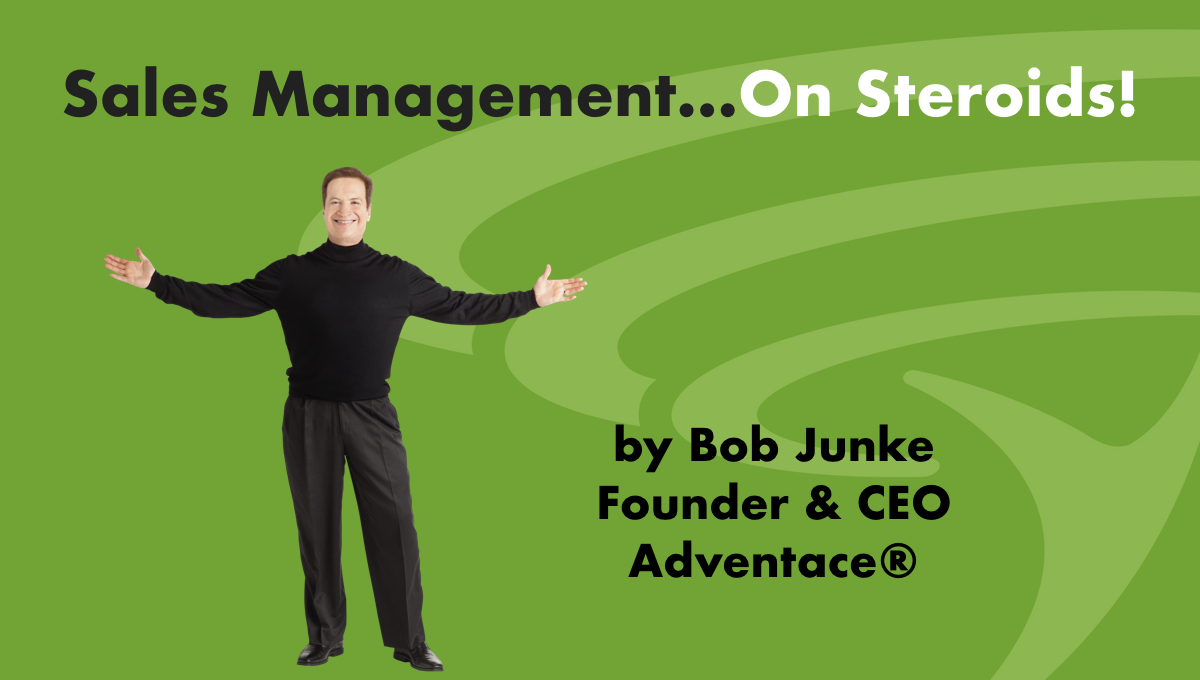 The Sales Management on Steroids podcasts will help sales management dramatically boost the performance of their sales people and in fact their entire sales operation.