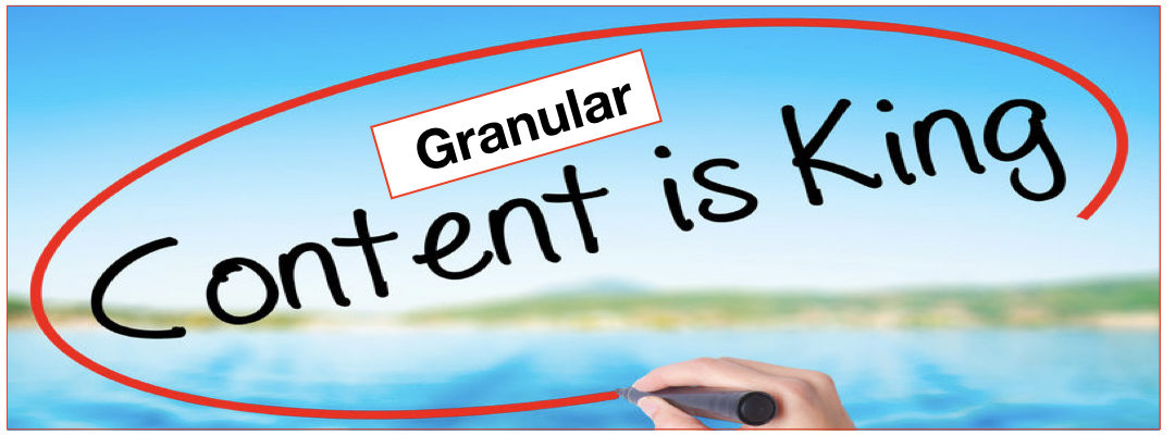 Why Granular Content Matters for Effective Sales Enablement