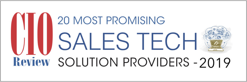 20 Most Promising Sales Tech Solution Providers 2019